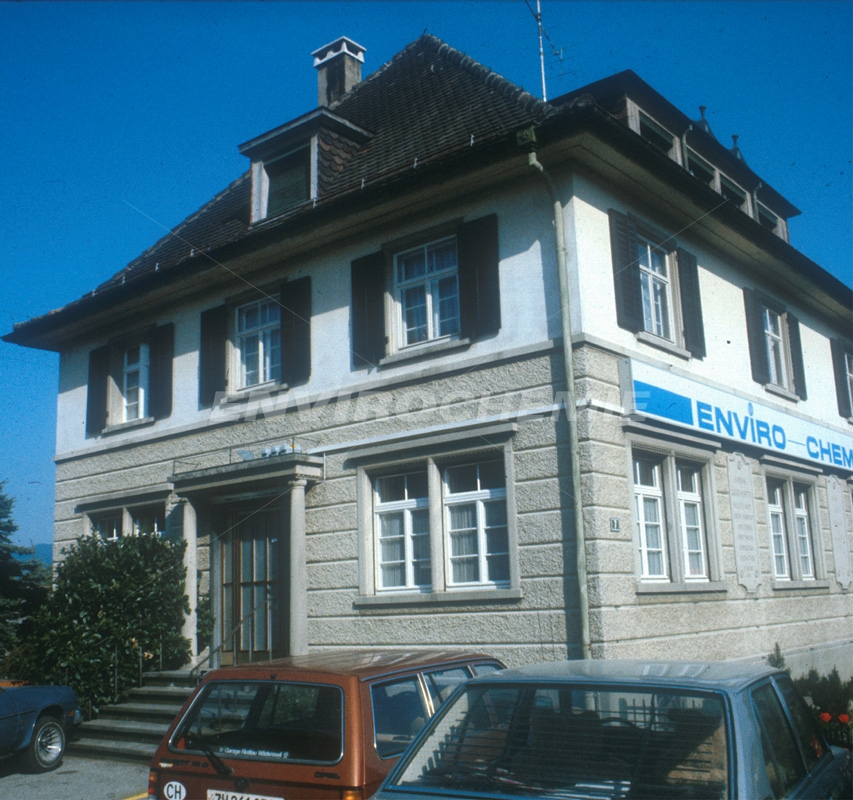 EnviroChemie 1976 in der Schweiz