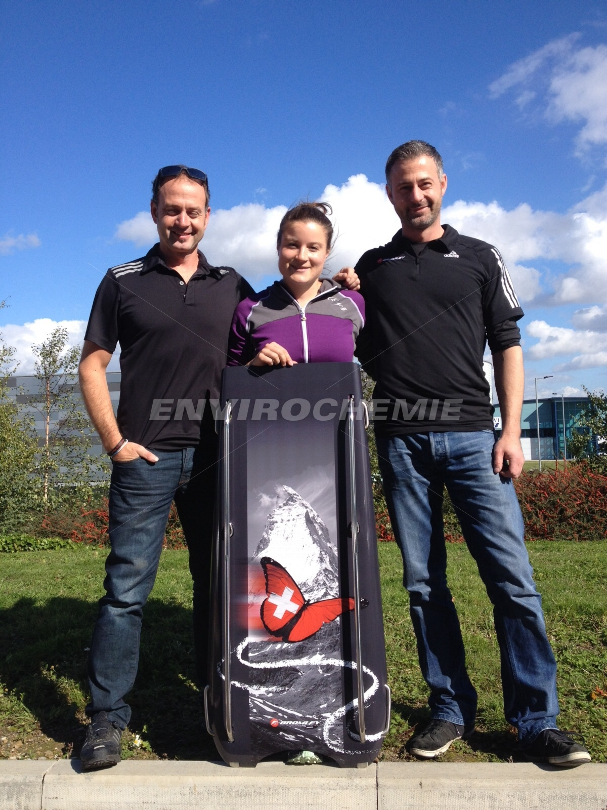 Marina Gilardoni - neuer Rennschlitten made in UK