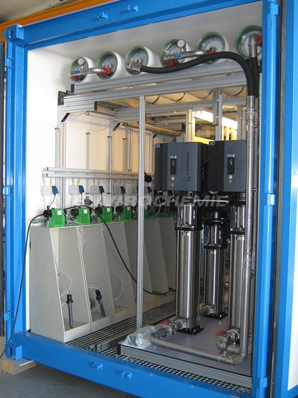 EnviModul Envopur membrane plant, company photo