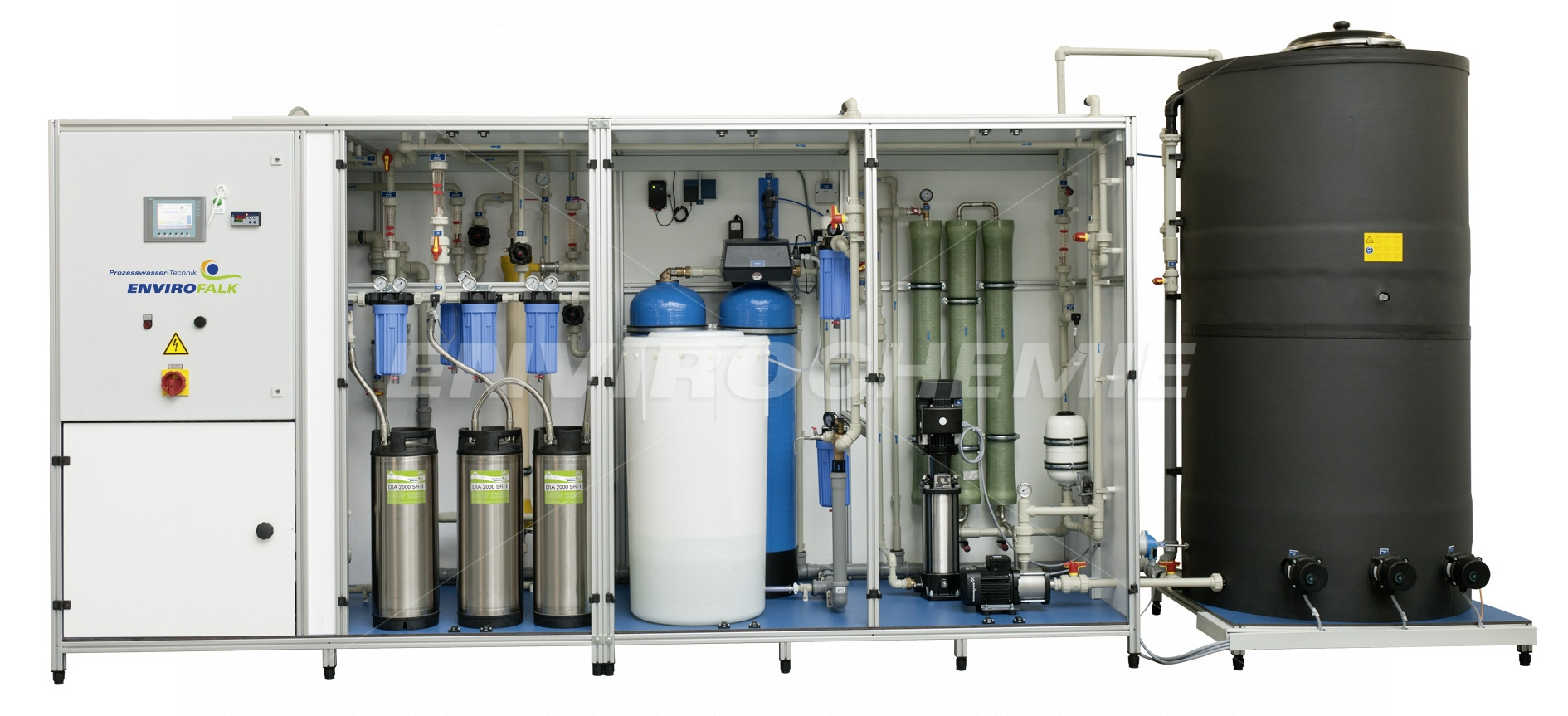 EnviroFALK pure water recirculation system