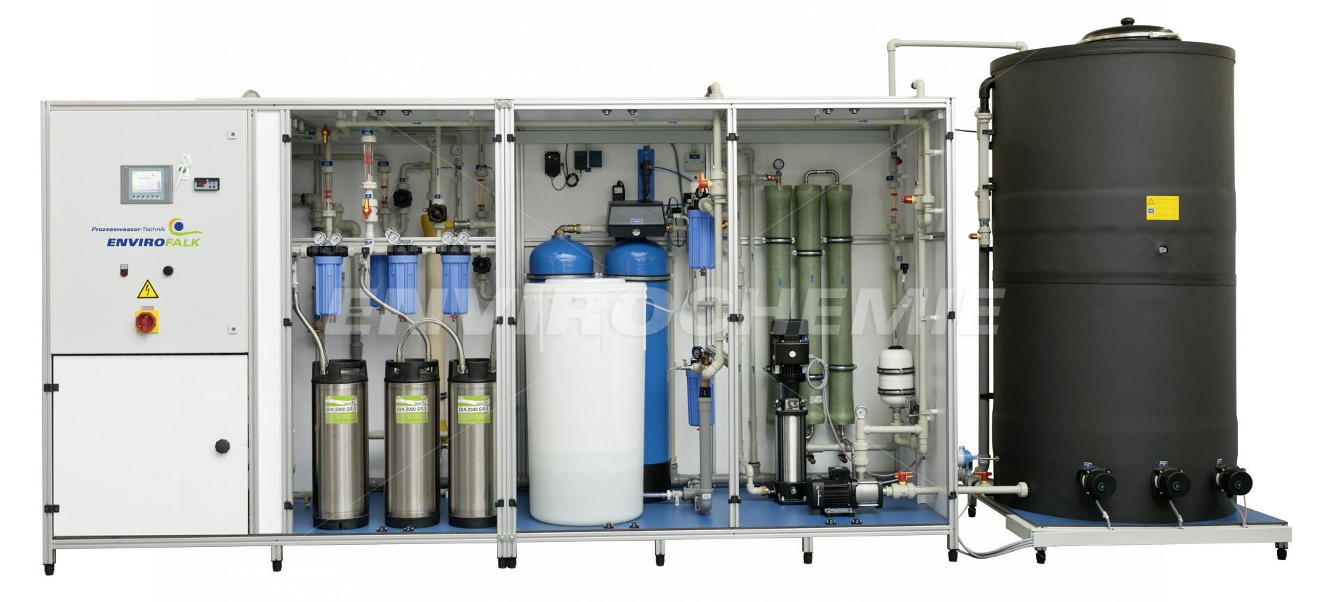 EnviroFALK Reinwasserkreislaufanlage mit