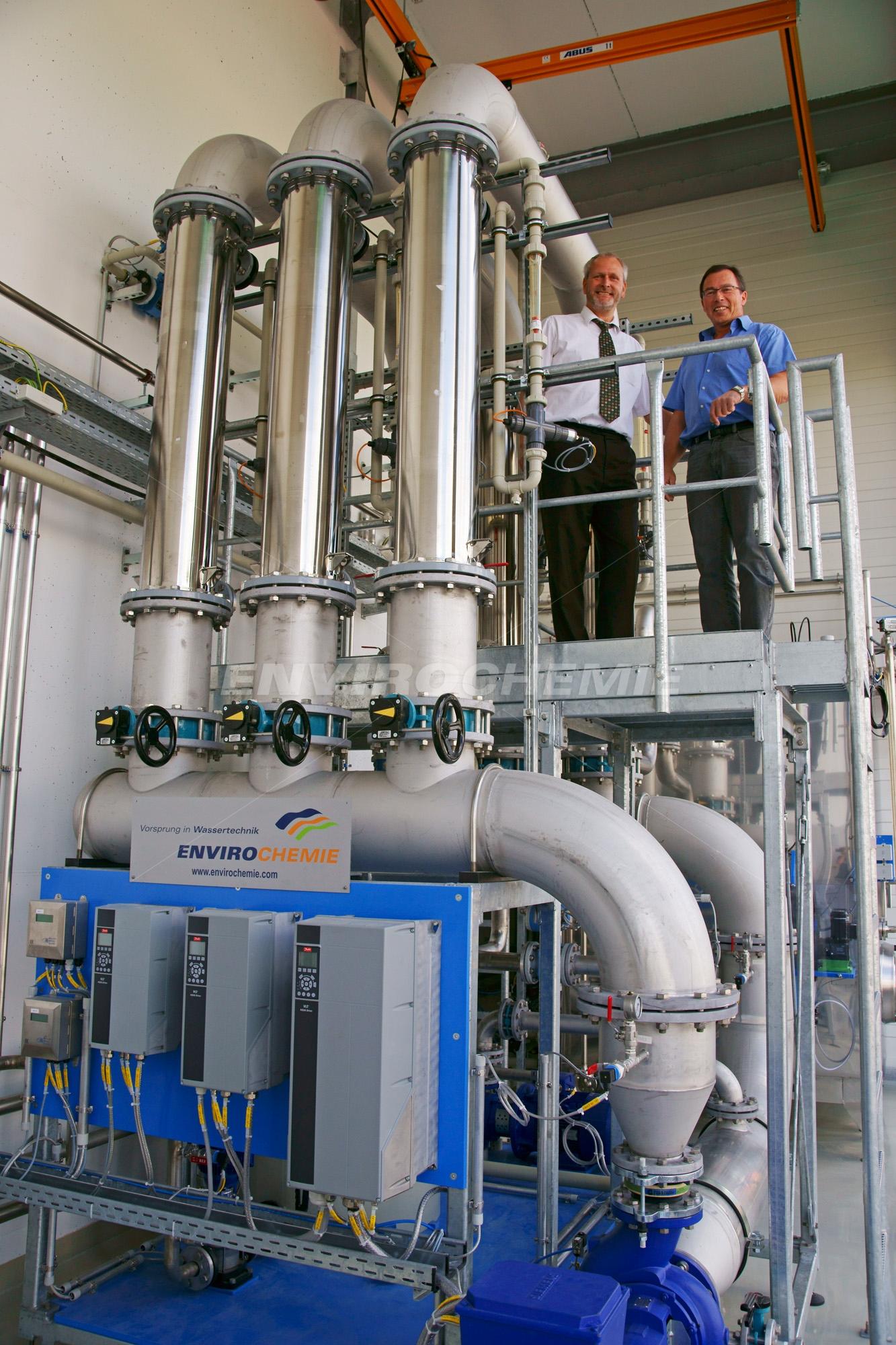 Envopur® Ultrafiltrationsanlage zum Recycling von
