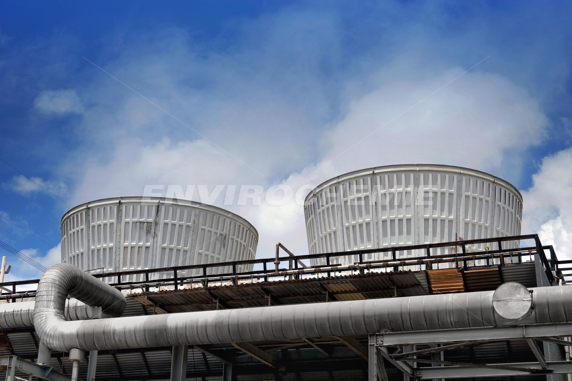 Kühlwasserbehandlungsanlage von Envirochemie