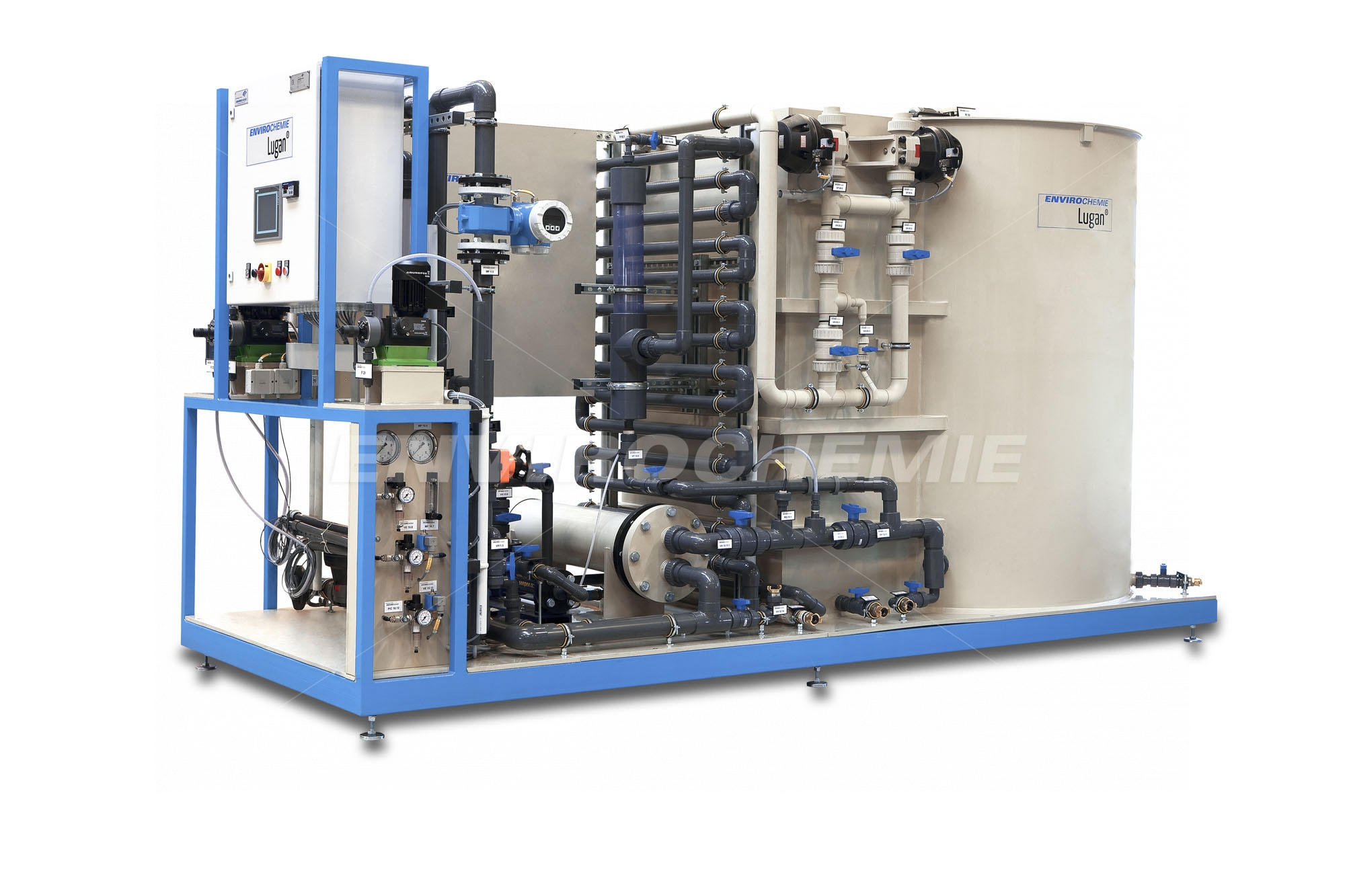 Lugan® 10000 flotation plants have been developed