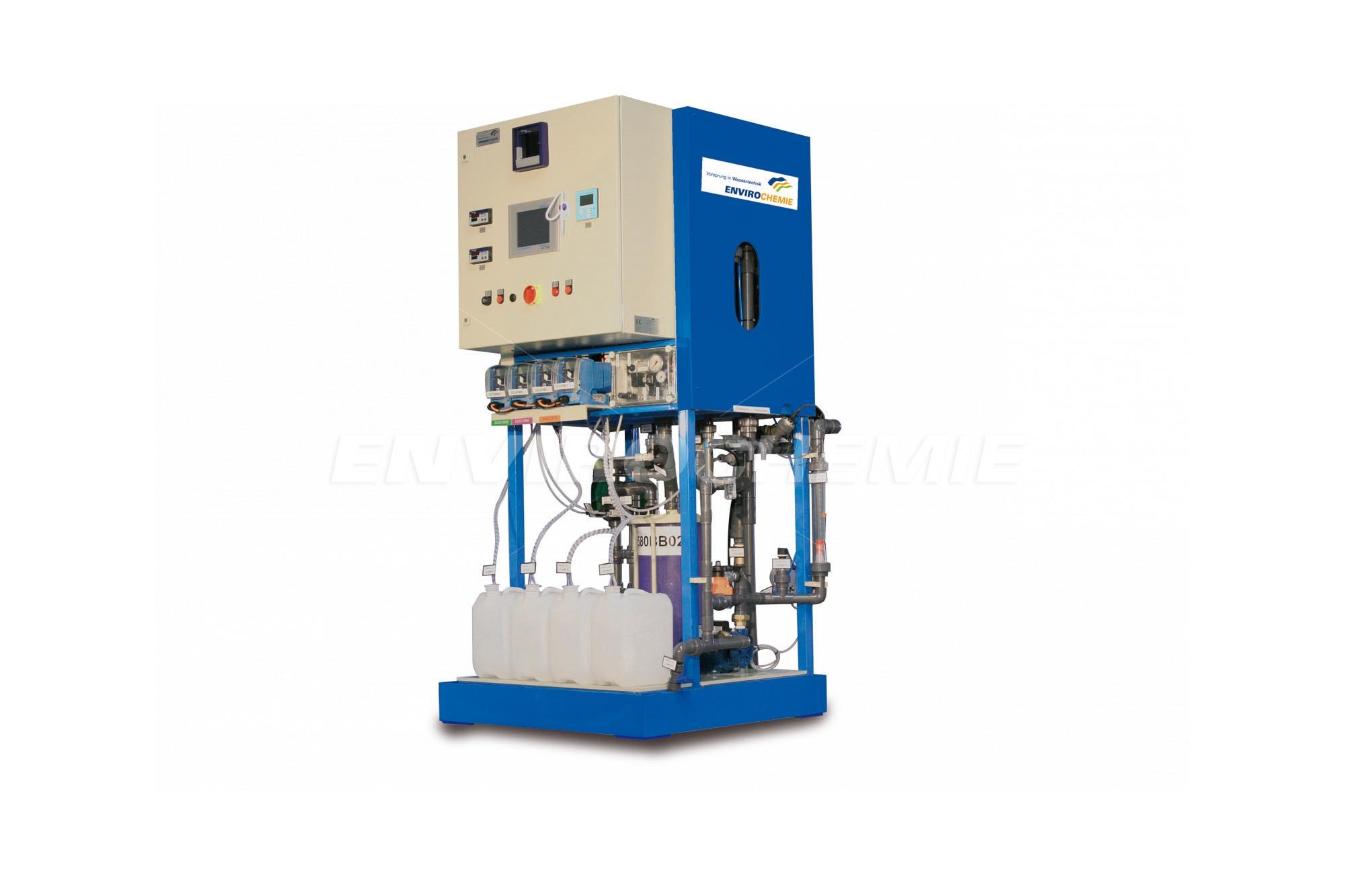 Lugan® 1500 mit Reinwasser-Rückführung und