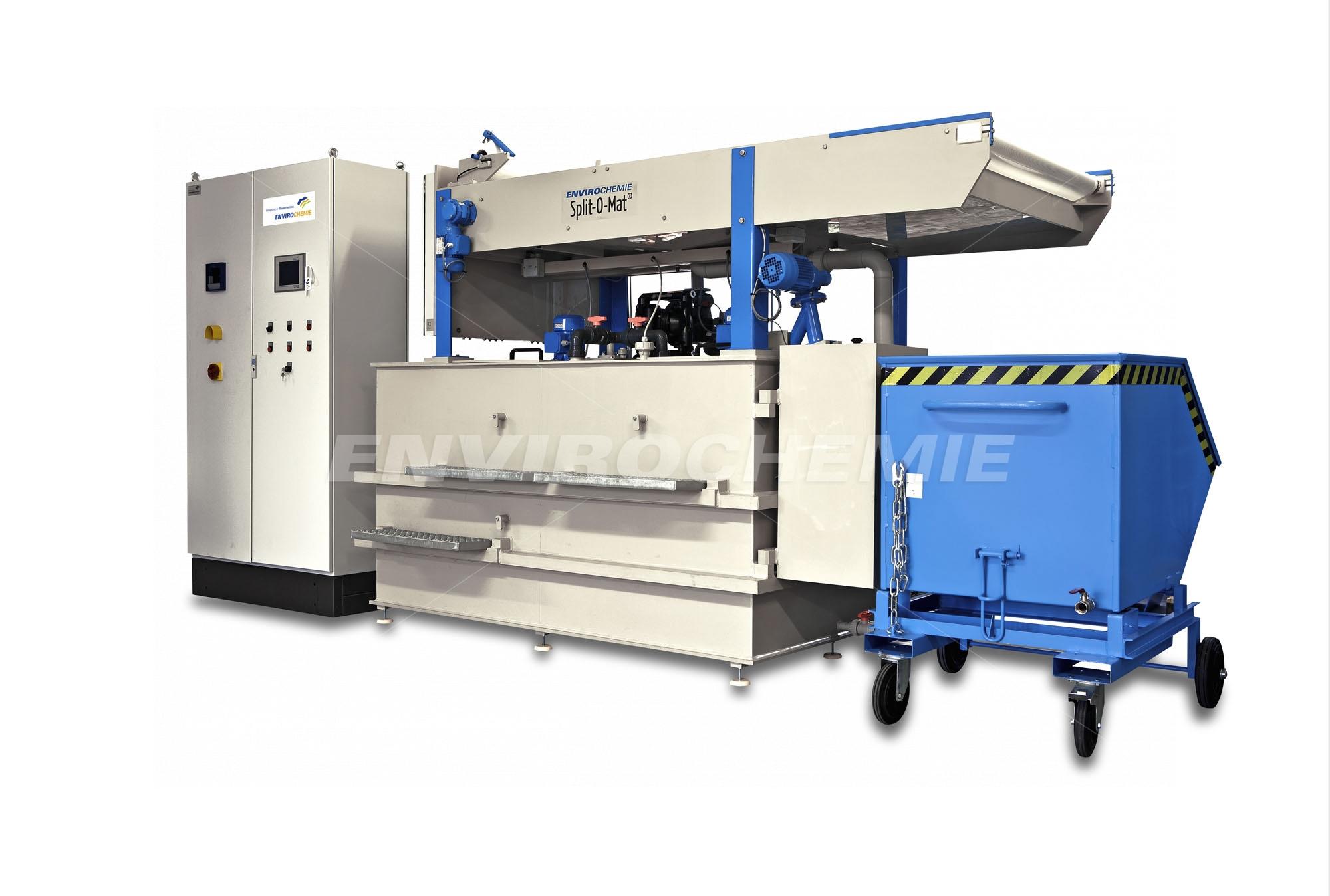 Split-O-Mat SOM 4200: Kompaktanlagekomplett mit