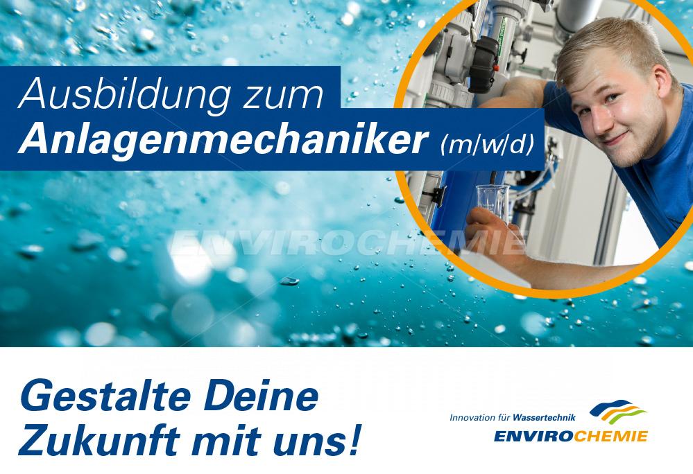 Ausbildung zum Anlagenmechaniker (m/w/d) -