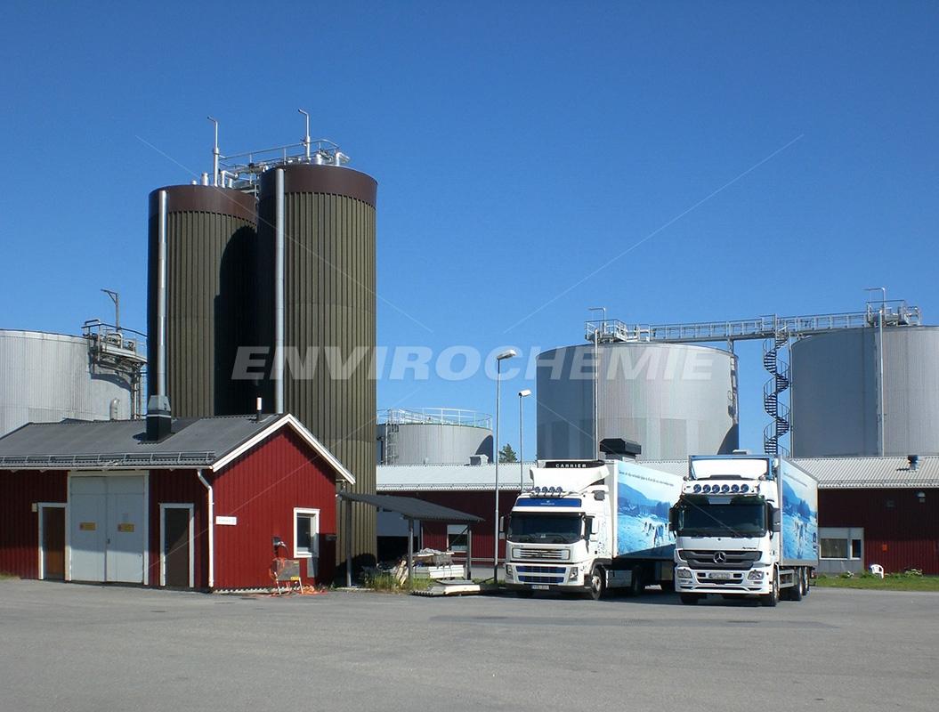 Großmolkerei gewinnt aus Molke Biogas für die
