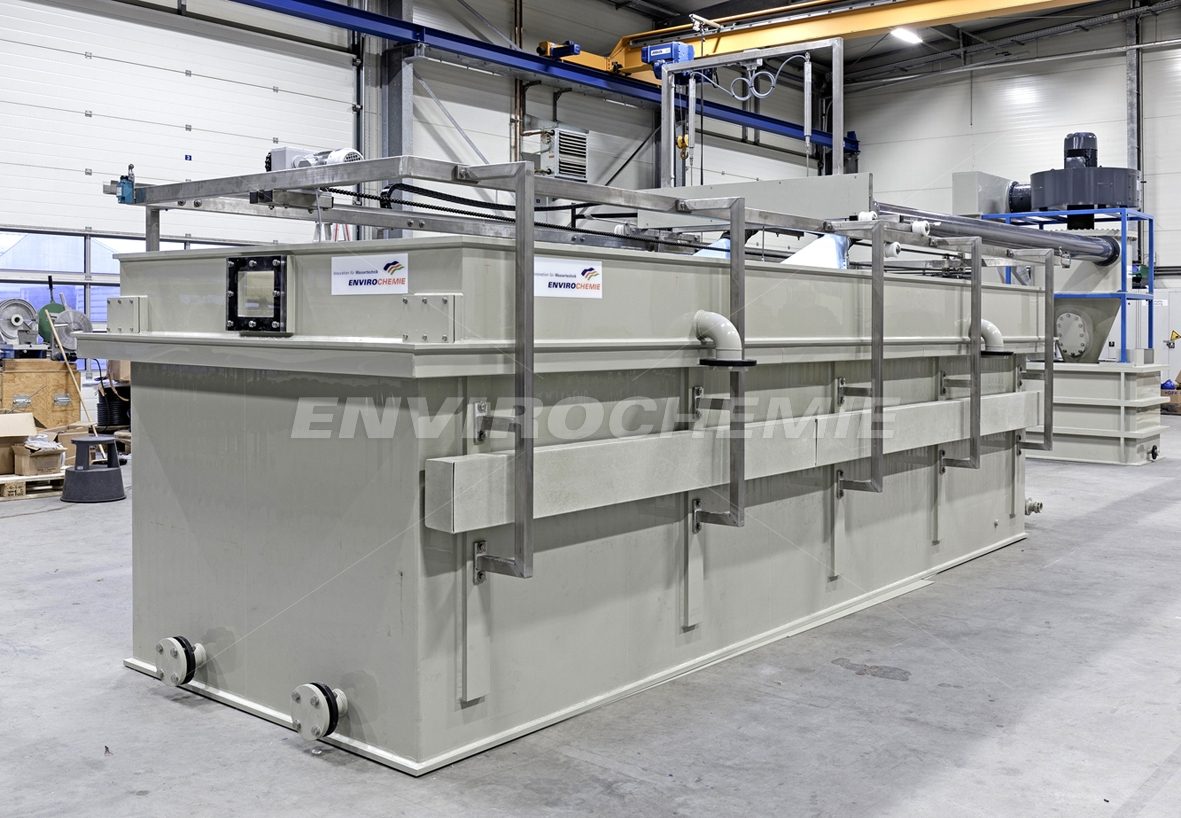 E-Flo Dr Baer electroflotation plant production at