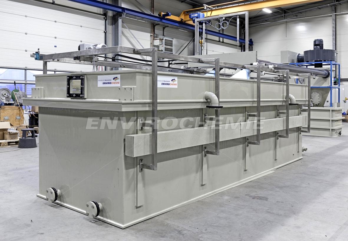 Elektroflotation E-Flo Dr. Baer in der Fertigung