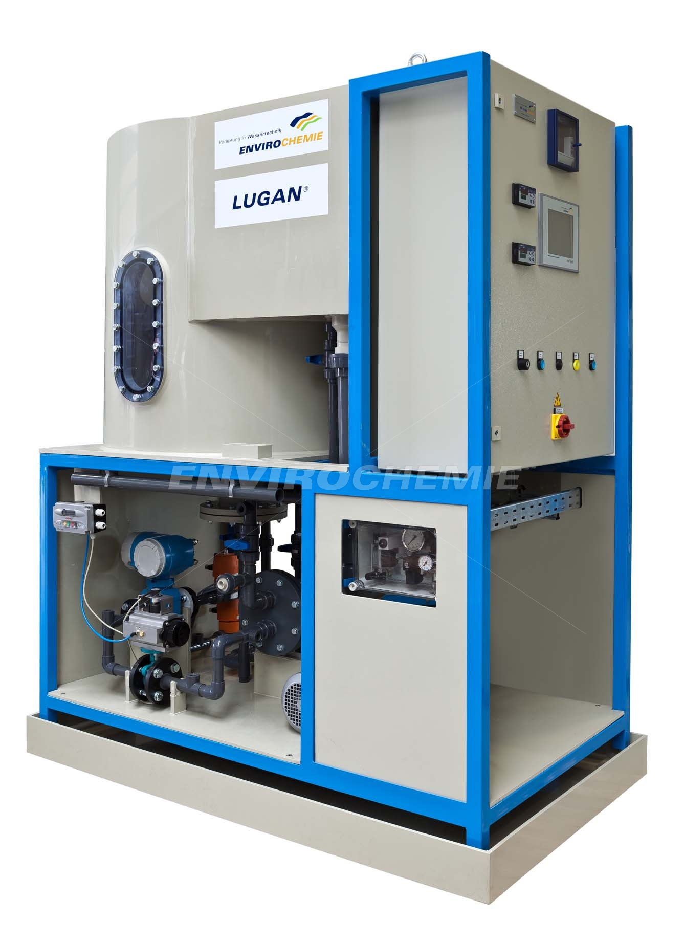 Lugan 3000 compact flotation plant which has been