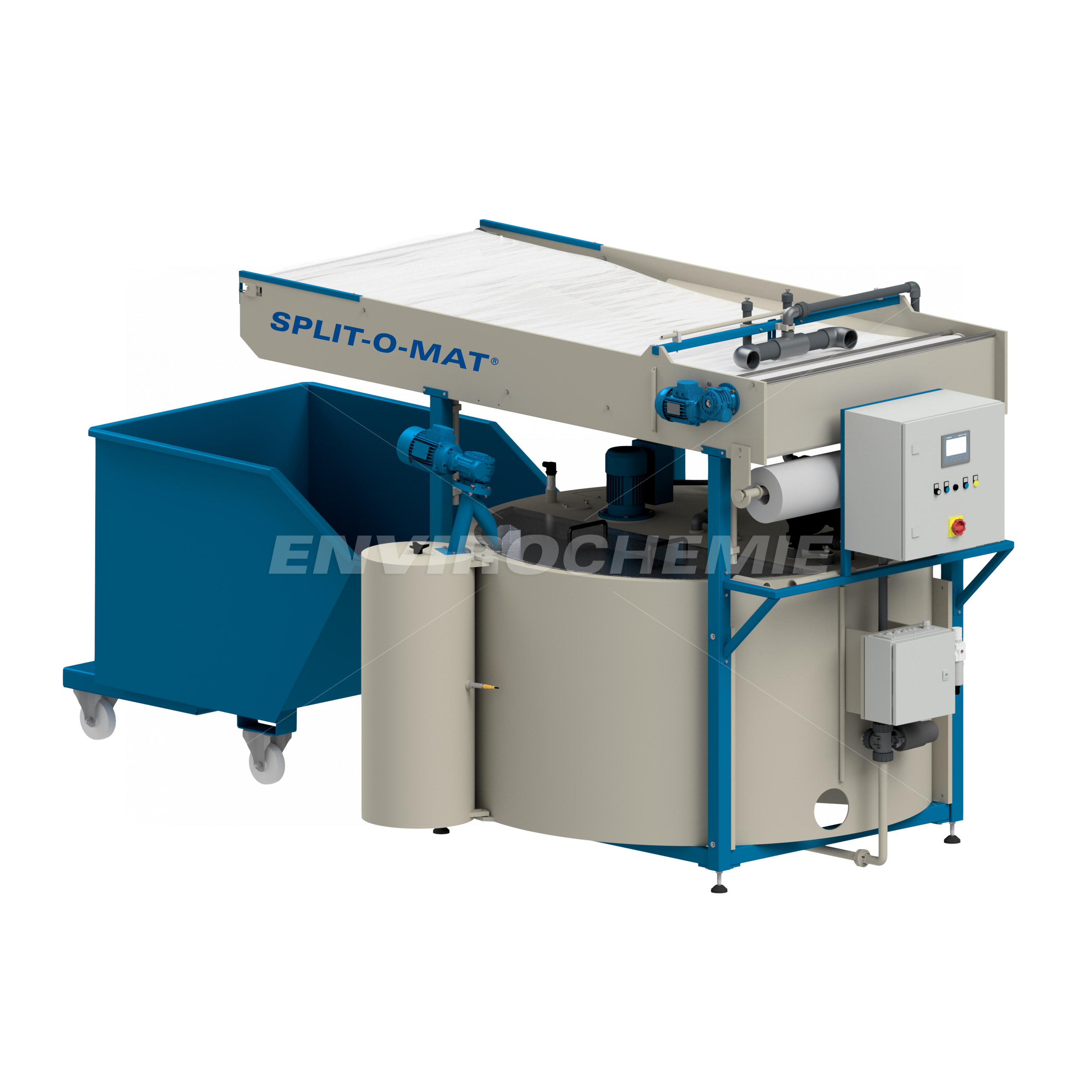 Kompakte Abwasserbehandlungsanlage Split-O-Mat®