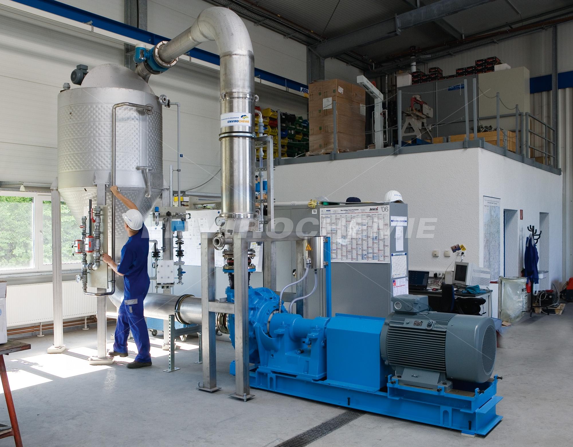 Envopur Mikrofiltrationsanlage zur