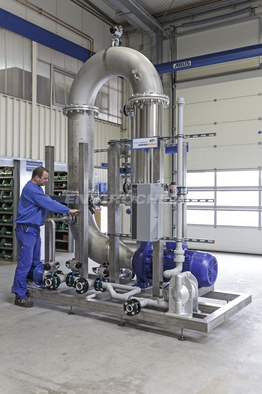 Envopur-Anlage zum Wasserrecycling für eine