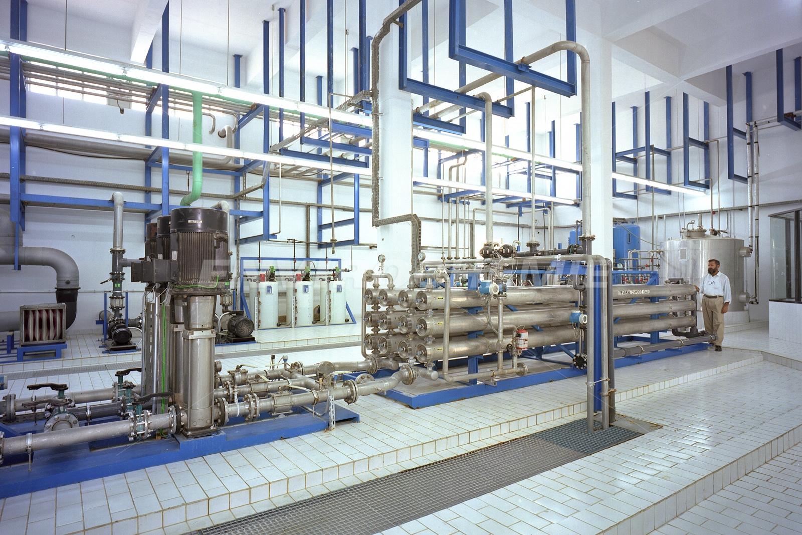 Prozesswasseraufbereitung für die