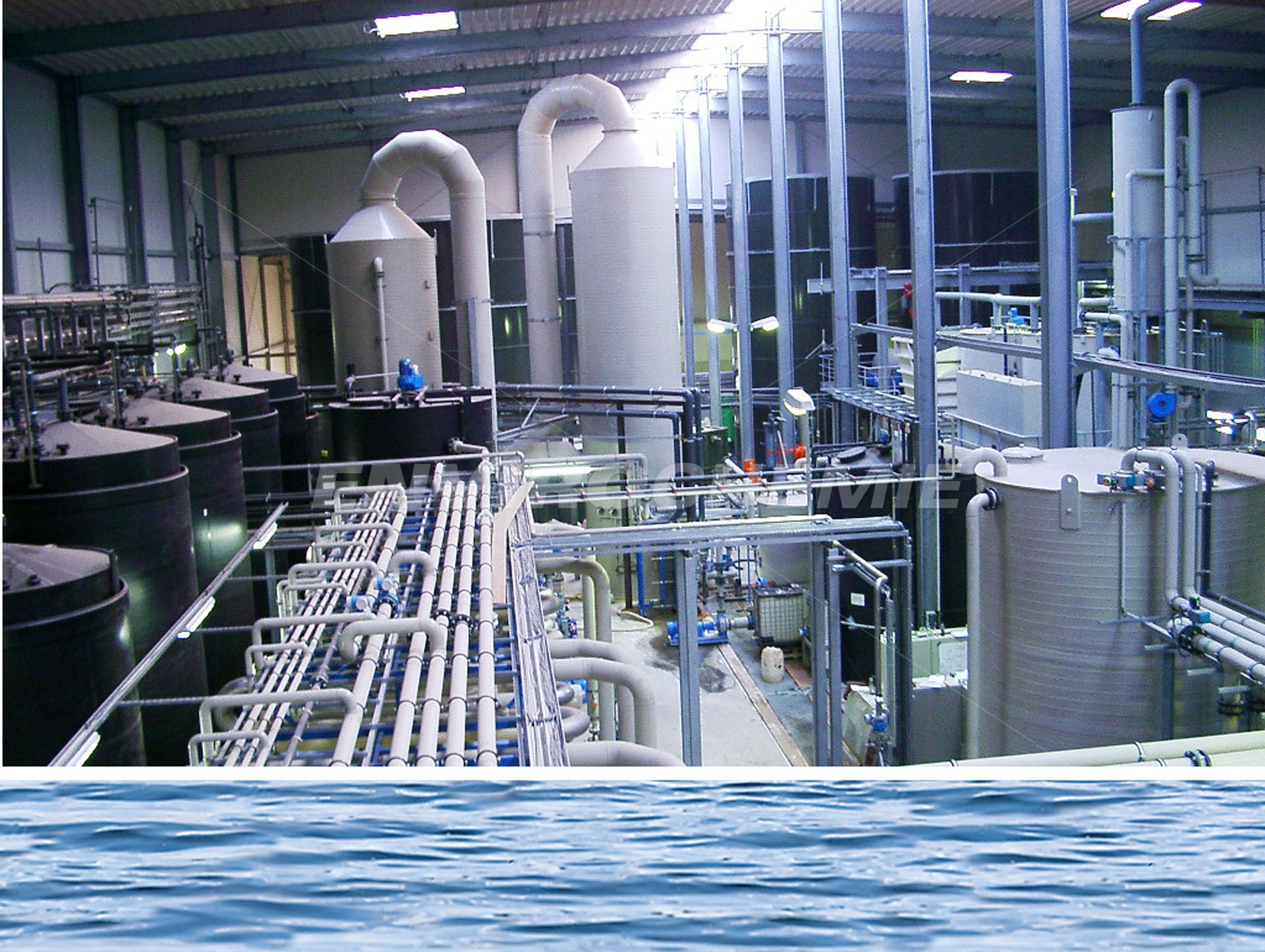 Industrial Water Treatment : Industrial water treatment to meet all requirements